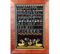 Harriot Boardman 1804 Sampler