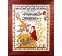 Jane Stott 1837 Christmas Sampler