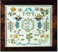 Margaret Randolph 1826 Sampler