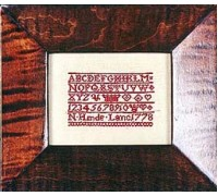 N Hinde 1778 Sampler - Silk Floss Kit