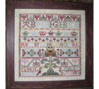 A Scottish Sampler circa 1740