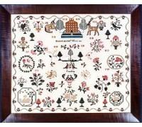 Elizabeth Mitchell 1809 Sampler
