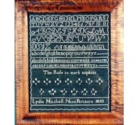 Lydia Mitchell 1810 Sampler