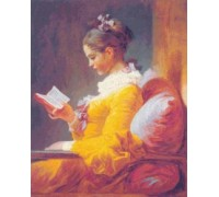 A Young Girl Reading by Jean-Honore Fragonard