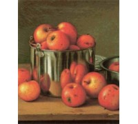 Apples in a Tin Pail by Levi Wells Prentice