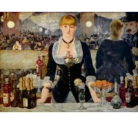 Bar at the Folies-Bergere by Manet