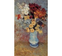 Bouquet of Daisies and Anemones by van Gogh