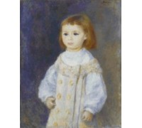 Child in a White Dress by Pierre Auguste Renoir