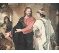 Christ and the Rich Young Ruler by Heinrich Hofmann