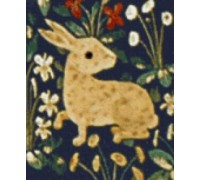 Cluny Tapestry Rabbit II - Chart or Kit