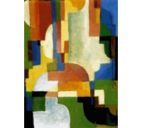 Coloured Forms I by Auguste Macke