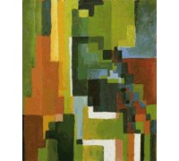 Coloured Forms II by Auguste Macke