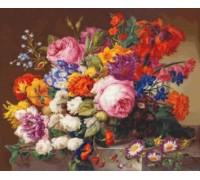 Corbeille de Fleurs by Joseph Nigg