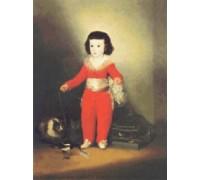 Don Manuel Osorio Manrique de Zuniga by Francisco Goya