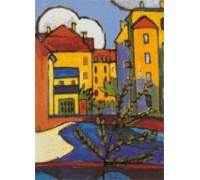 In Schwabing by Gabriele Munter