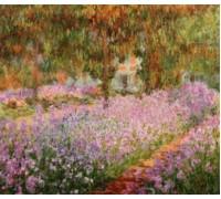 Irises in Monets Garden by Claude Monet