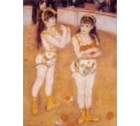 Jugglers at the Cirque Fernando by Renoir