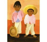 Los Hijos de mi Compadre by Diego Rivera