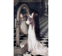 Mariana in the South by Waterhouse