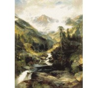 Mountain of the Holy Cross by Thomas Moran