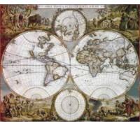 Nova Orbis Tabula by Frederick de Wit