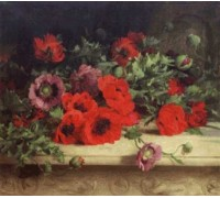 Poppies by William Jabez Muckley