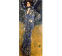 Portrait of Emilie Floge by Klimt