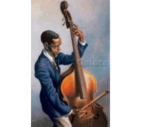Portrait of a Musician by Thomas Hart Benton