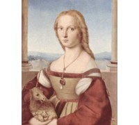 Portrait of a Young Woman with Unicorn by Raphael