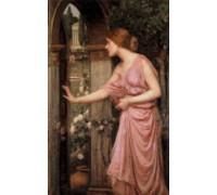 Psyche Entering Cupid's Garden by Waterhouse
