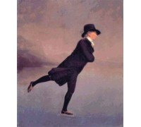 Reverend Robert Walker Skating by Sir Henry Raeburn