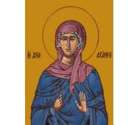 Sainta Agatha by Unknown