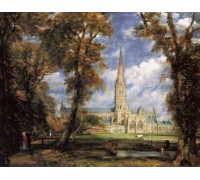 Salisbury Cathedral from the Bishop's Grounds by Constable