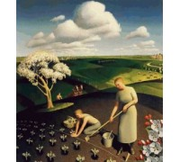 Spring In The Country by Grant Wood