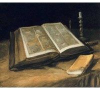 Still Life With Bible by Van Gogh