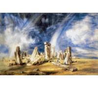 Stonehenge by John Constable
