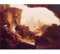 Subsiding the Waters of the Deluge by Thomas Cole