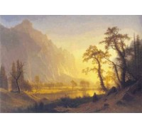 Sunrise, Yosemite Valley by Albert Bierstadt
