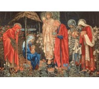 The Adoration of the Magi by Edward Burne-Jones