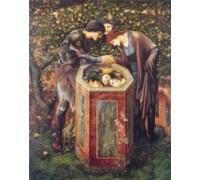 The Baleful Head by Edward Burne Jones