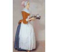 The Chocolate Pot by Jean-Etienne Liotard