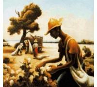 The Cotton Picker by Thomas Hart Benton