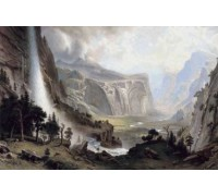 The Domes of the Yosemite by Albert Bierstadt