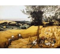 The Harvesters by Pieter Bruegel