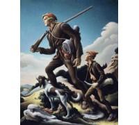 The Kentuckian by Thomas Hart Benton