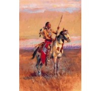 The Scout by Charles M Russell