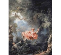 The Swing by Jean-Honore Fragonard