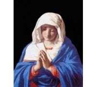 The Virgin in Prayer by Sassoferrato