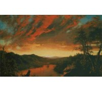 Twilight in the Wilderness by Frederick Church