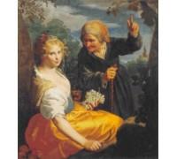 Vertumnus and Pomona by Paulus Moreelse